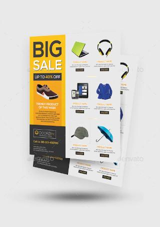Elegant Product Sale Flyer
