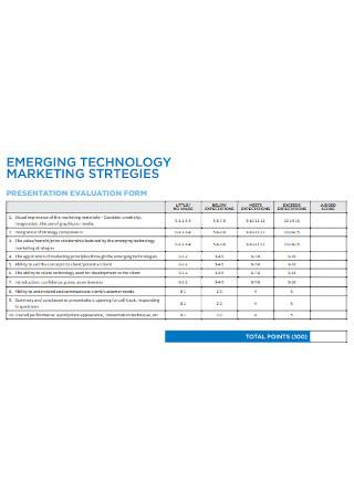 Emerging Technology Marketing Strategies