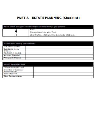 Estate Planning Checklist2