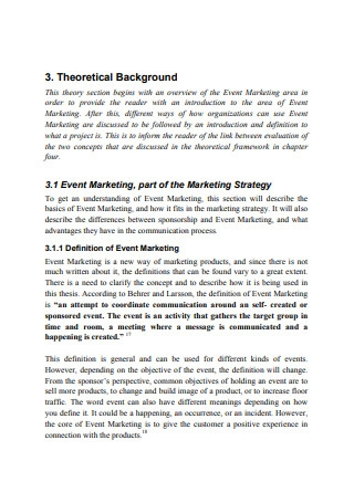 Evaluation of Event Marketing