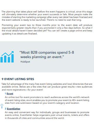 Event Marketing Strategies1