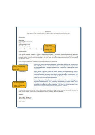 Formal Internship Letter of Recommendation