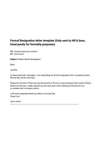 Formal Resignation Letter2