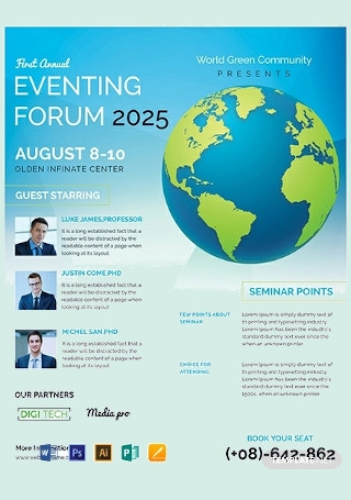 Free Business Event Flyer Template