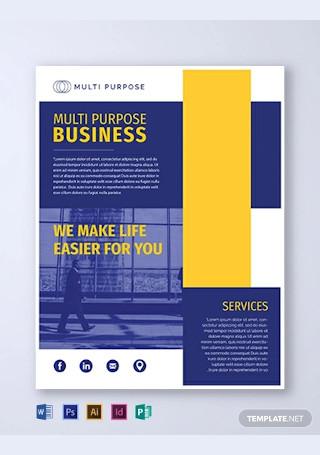 Free Multi Purpose Business Flyer Template1