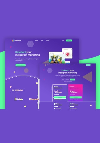 Instagram Marketing Website1