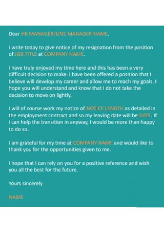 Job Resignation Letter1