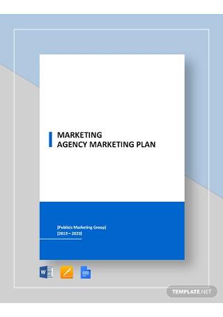 Marketing Agency Marketing Plan Template