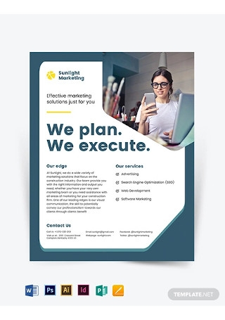 Marketing Business Flyer Template1