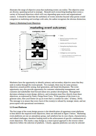 Marketing Event Tactical to Strategic