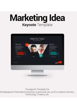 Marketing Idea Keynote