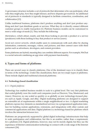 Marketing Platform Strategy
