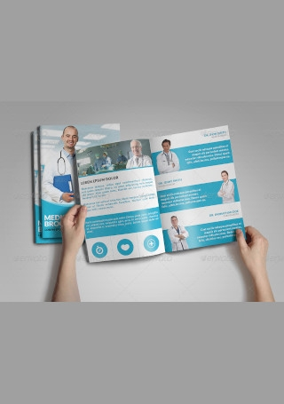 Medical Health Bifold Brochure