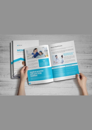 Medical HealthCare Brochure