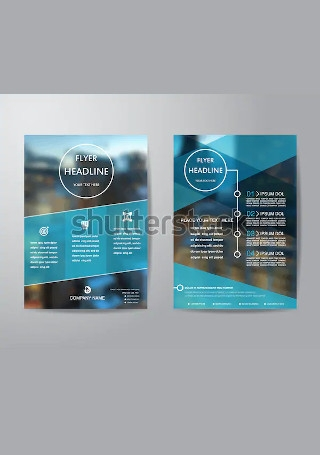 Minimal Business Brochure InDesign