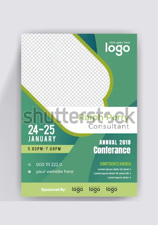 Minimal Conference flyer