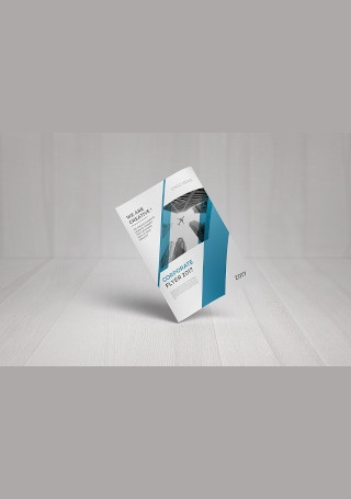 Minimal Corporate Flyer in Vector EPS