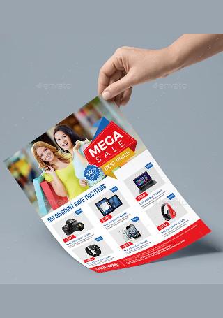 Minimal Product Sale Flyer