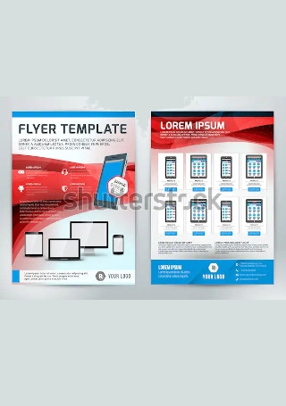 Modern Business Flyer InDesign