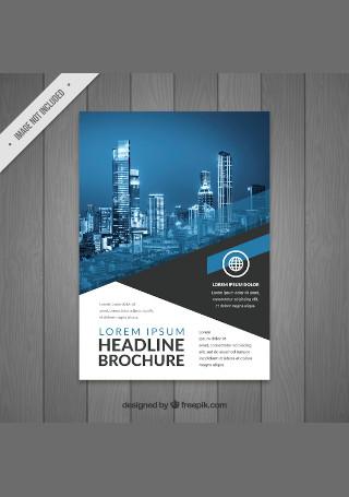 Modern Business Flyer in Vector EPS