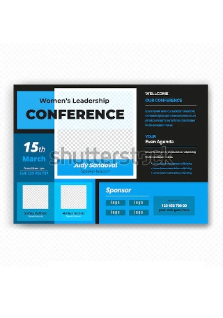 Modern Conference Flyer InDesign