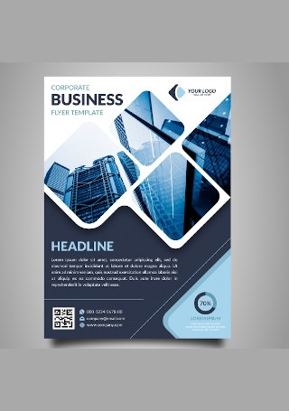 Modern Corporate Business Flyer InDesign