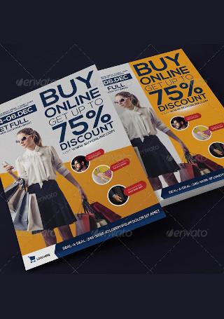 Modern Fashion Promotion Flyer