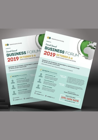 Multipurpose Business Event Flyer