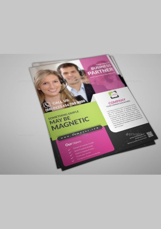 Multipurpose Business Flyer Print Sample