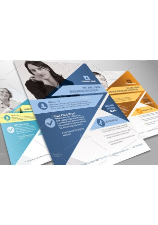 Multipurpose Business Flyer in Vector EPS