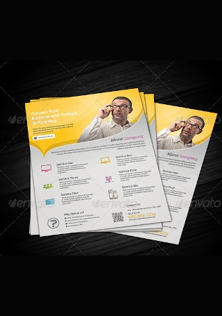 Multipurpose Corporate Flyer InDesign