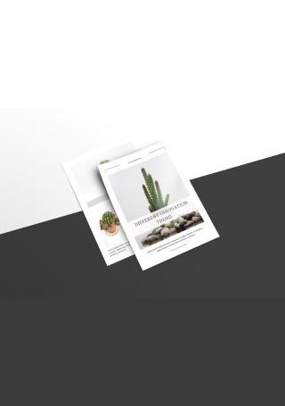 Multipurpose Postcard Flyer InDesign
