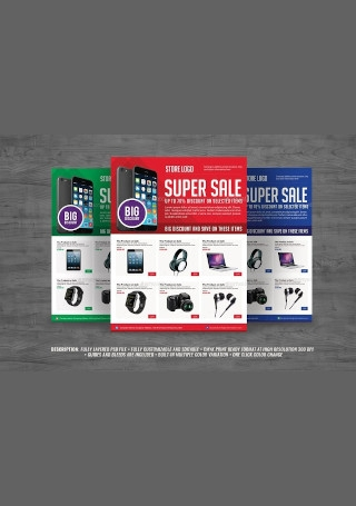 Multipurpose Product Sales Flyer