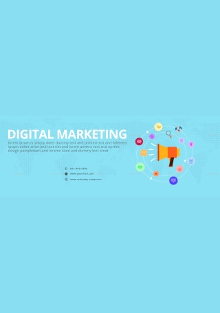 Online Marketing Facebook Cover