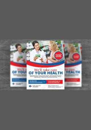 Pharmacy Services Flyer