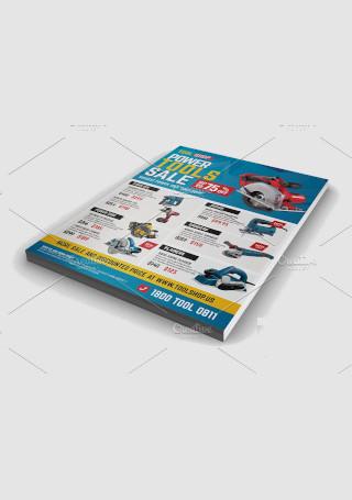 Power Tools Sale Flyer