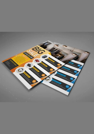Product Sale Flyer in Vector EPS