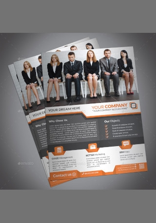 Professional Creative Corporate Business Flyer Print InDesign