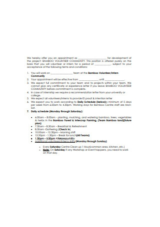 Professional Internship Recommendation Letter