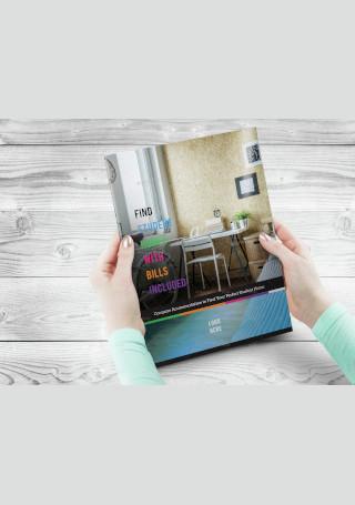 Property Business Brochure InDesign