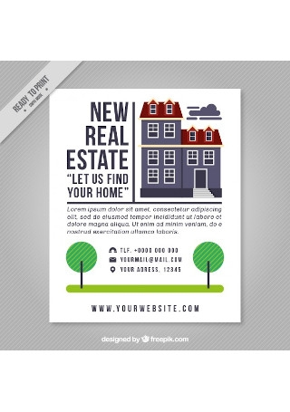 18+ SAMPLE Real Estate Brochures in PSD | InDesign | AI