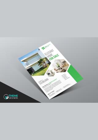 Real Estate Business Flyer InDesign