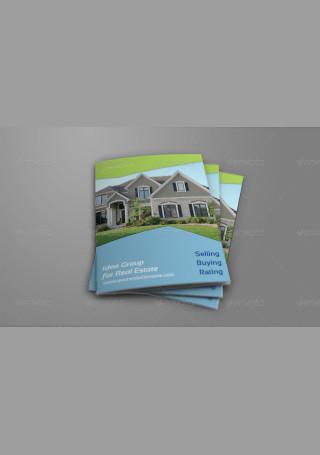 Real Estate Company Brochure Bi Fold