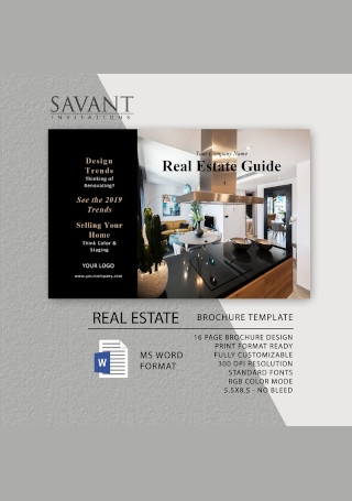 Real Estate Marketing Brochure
