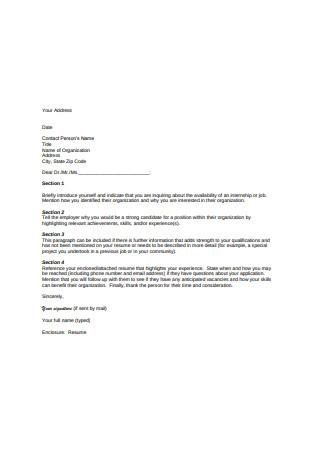 Recommendation Letter of Internship