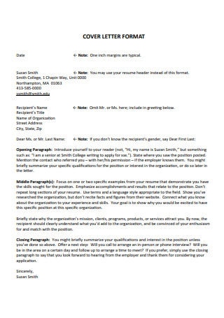 Resume and Cover Letter of Marketing