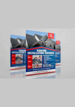 Roofing Services Flyer