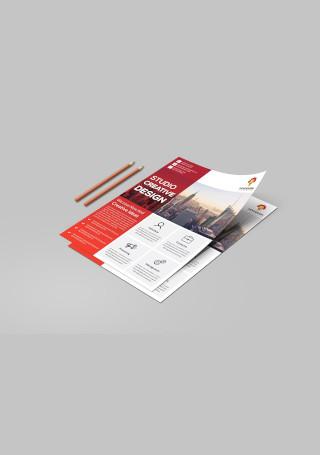 Sample Corporate Flyer Design