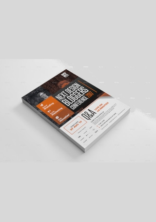 Sample Corporate business event flyer