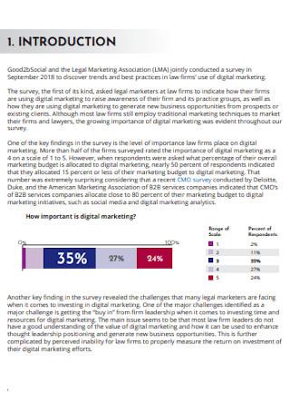 Sample Digital Marketing Survey